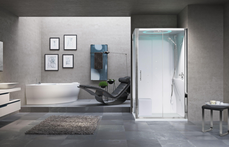 cabines de douche eon 2p 120x80 120x90 hammam novellini. Black Bedroom Furniture Sets. Home Design Ideas